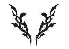 tatoo λουλουδιών Στοκ φωτογραφία με δικαίωμα ελεύθερης χρήσης