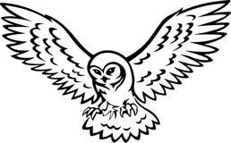 Tatoo φτερών απεικόνιση αποθεμάτων