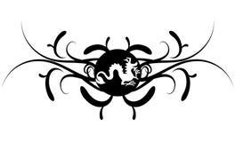 tatoo дракона Стоковые Фотографии RF