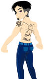 tatoo иллюстрация вектора