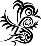 鸟tatoo 免版税库存图片