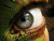 Tatoo da microplaqueta Imagens de Stock