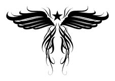 Tatoo design. Vector design element for tattoo Royalty Free Stock Image