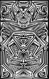 Tatoo tribal Imagens de Stock Royalty Free
