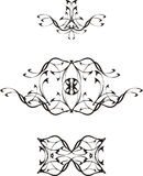 Tatoo Vector black 1 Royalty Free Stock Images