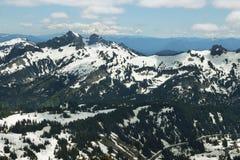 Tatoosh Range and Mount Adams, Washington, USA Royalty Free Stock Photo