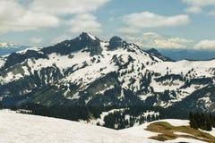 Tatoosh Range and Mount Adams, Washington, USA Royalty Free Stock Photography