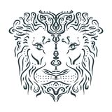 Tatouage animal ornemental illustration stock