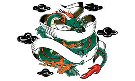 Tatouage de dragon Photo stock