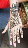 Tatouage de henné Images stock