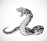 Tatouage de serpent Photo stock