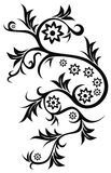 tatouage floral illustration stock