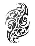 Tatouage maori illustration de vecteur