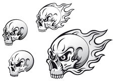 Tatouages de crâne illustration libre de droits