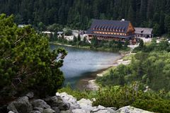 Tatra国家公园,斯洛伐克 库存图片