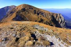 Tatra山全景在一点波兰-西部Tat 免版税库存照片