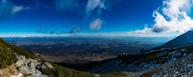 Tatra山在斯洛伐克 免版税图库摄影