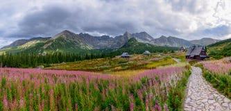 Tatra山在波兰 免版税库存照片