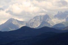 Tatra山,波兰的怪诞 库存照片