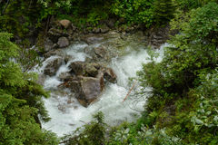 Tatra瀑布 库存照片
