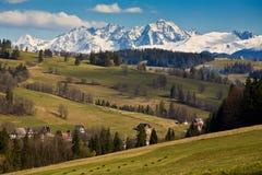 tatra βουνών Στοκ φωτογραφία με δικαίωμα ελεύθερης χρήσης