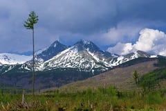 tatra βουνών Στοκ Εικόνες