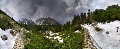 tatra βουνών Στοκ Φωτογραφίες