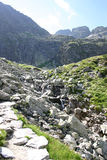 tatra στιλβωτικής ουσίας βουνών Στοκ εικόνα με δικαίωμα ελεύθερης χρήσης