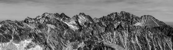 tatra высоких гор Стоковые Фото