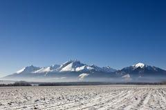 tatra гор Стоковая Фотография