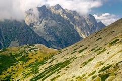 tatra Словакии высоких гор Стоковые Фото