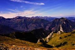 Ландшафт гор Tatra стоковые изображения