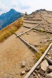 Путь в горах Tatra стоковые фото