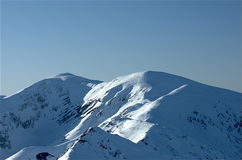 tatra 6 гор Стоковая Фотография RF