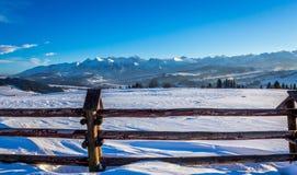 Tatra berg Royaltyfria Foton