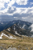 Tatra berg Arkivfoto