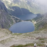 Tatra berg Royaltyfri Fotografi