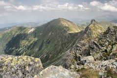 Tatra berg i sommar, Polen Royaltyfri Foto