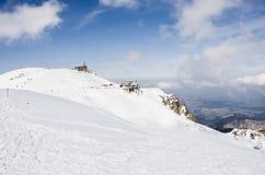 Tatra berg i vinter Royaltyfri Bild