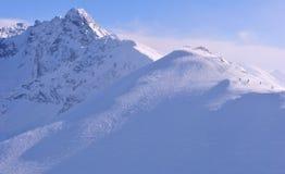 Tatra berg (Tatry) Arkivfoton