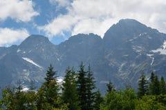 Tatra Berge Lizenzfreie Stockfotos