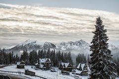 Tatra-Berge im Winter, Landschaft Stockfoto