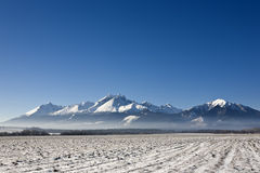 tatra de montagnes photographie stock