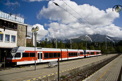 Tatra Electric Railway Stock Image