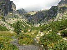 Tatra elevado Imagens de Stock