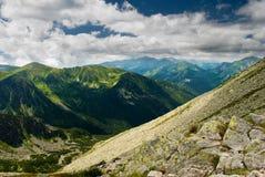 Tatra Gebirgslandschaft Stockfotografie