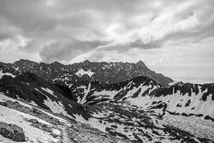 Tatra-Gebirgswandern Stockfoto