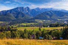 tatra halny panoramiczny widok obrazy stock
