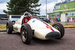 Tatra historic formula car. Historic racing car photographed during Brno Grand Prix Revival event on 5 July 2014 in Automotodrom Brno, Czech Republic Stock Images