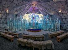 Tatra Ice Dome, Hrebienok, High Tatras. Tatranský ľadový dóm, Vysoké Tatry Royalty Free Stock Photos